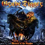 Grave Digger Return Of The Reaper. LTD RU 2CD Digipack 2014 available купить belarus