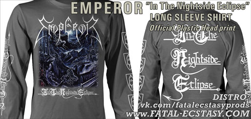 EMPEROR In The Nightside Eclipse GRAY LONG-SLEEVE-SHIRT доступно www.fatal-ecstasy.com купить available at www.fatal-ecstasy.com buy