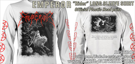 EMPEROR Rider 2019 WHITE LONG-SLEEVE-SHIRT доступно www.fatal-ecstasy.com купить available at www.fatal-ecstasy.com buy