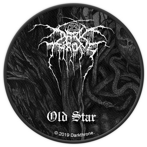 DARKTHRONE Old Star PATCH доступно www.fatal-ecstasy.com купить available at www.fatal-ecstasy.com buy