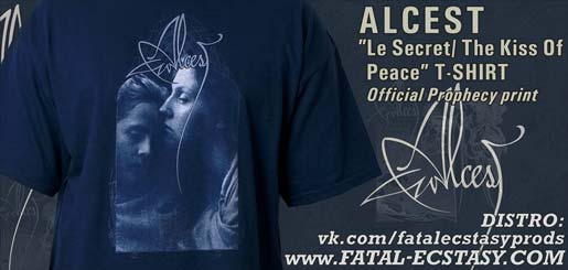 ALCEST Le Secret The Kiss Of Peace T-SHIRT доступно www.fatal-ecstasy.com купить available at www.fatal-ecstasy.com buy