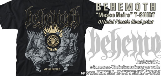 BEHEMOTH Messe Noire T-SHIRT доступно www.fatal-ecstasy.com купить available at www.fatal-ecstasy.com buy