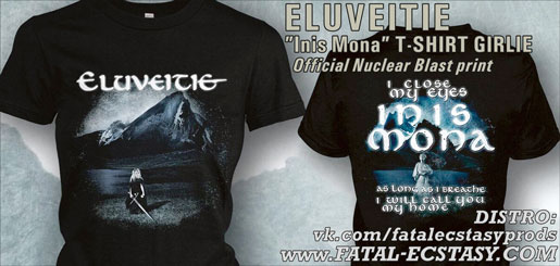 ELUVEITIE Inis Mona GIRLIE  T-SHIRT доступно www.fatal-ecstasy.com купить available at www.fatal-ecstasy.com buy