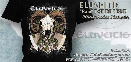 ELUVEITIE RAM GIRLIE T-SHIRT доступно www.fatal-ecstasy.com купить available at www.fatal-ecstasy.com buy