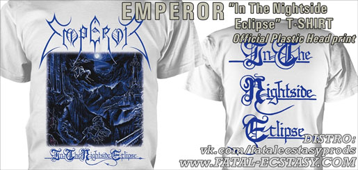 EMPEROR In The Nightside Eclipse WHITE T-SHIRT доступно www.fatal-ecstasy.com купить available at www.fatal-ecstasy.com buy