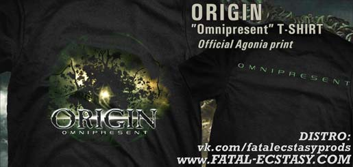 ORIGIN Omnipresent T-SHIRT доступно www.fatal-ecstasy.com купить available at www.fatal-ecstasy.com buy