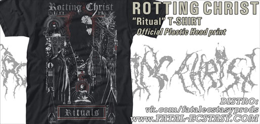 ROTTING CHRIST Ritual T-SHIRT доступно www.fatal-ecstasy.com купить available at www.fatal-ecstasy.com buy