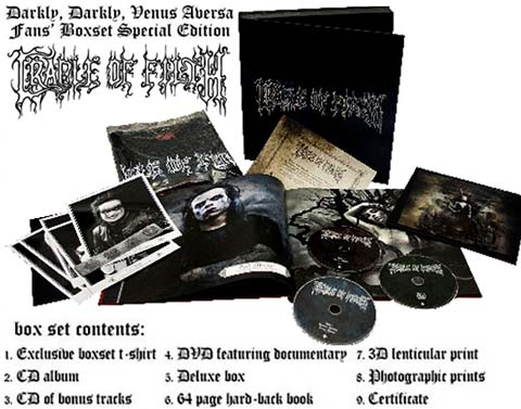 Cradle Of Filth Fanbox 2010 available купить