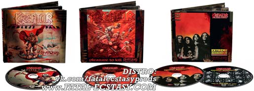 KREATOR CD DIGIBOOK LTD REMASTERS 2017 доступно www.fatal-ecstasy.com купить available at www.fatal-ecstasy.com buy