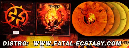 TRAUMA Archetype Of Chaos Limited vinyl LP доступно www.fatal-ecstasy.com купить